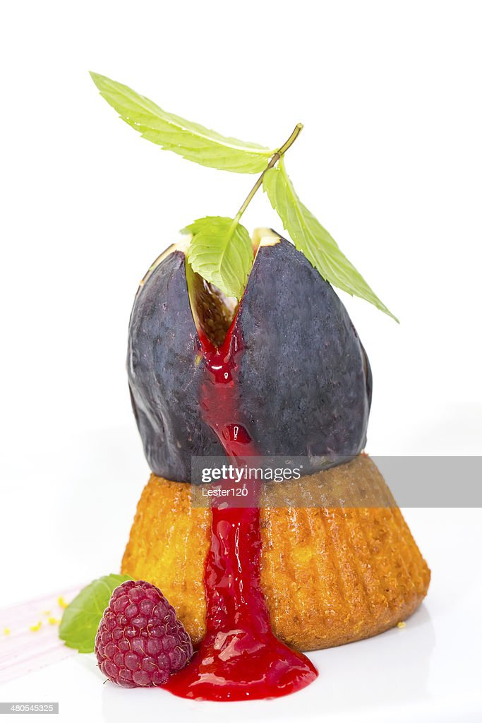 fig dessert : Stock Photo
