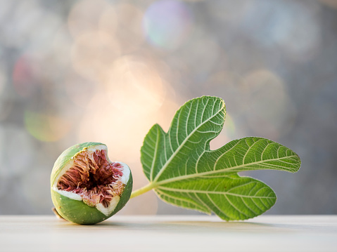Fig divided by the half - gettyimageskorea