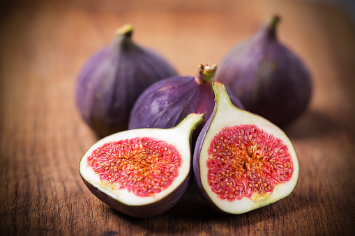 Fig fruit cross section - gettyimageskorea