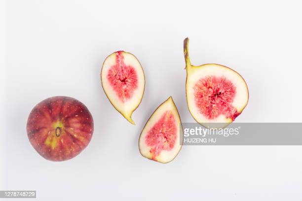 fig, top view - fig tree stock pictures, royalty-free photos & images