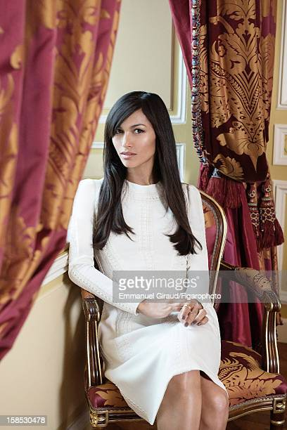 Figaro ID 105117004 Actress Elodie Yung is photographed for Madame Figaro on October 9 2012 in Paris France PUBLISHED IMAGE Dress by Valentino rings...