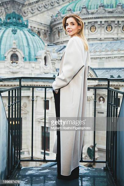 Figaro ID 105119006 Actress Clotilde Courau is photographed for Madame Figaro on October 8 2012 in Paris France PUBLISHED IMAGE Coat by Jil Sander...