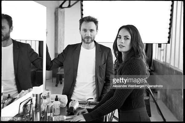 Figaro ID 105234006 Actress Berenice Bejo and hair stylist Stephane Bodin are photographed for Madame Figaro on October 22 2012 in Paris France...