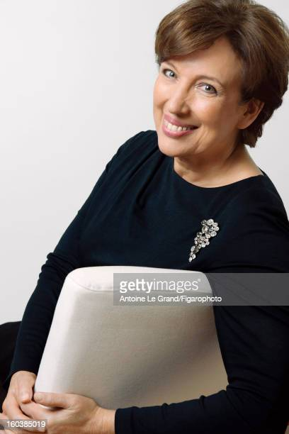 Figaro ID 105268003 Politician Roselyne Bachelot is photographed for Madame Figaro on October 23 2012 in Paris France PUBLISHED IMAGE CREDIT MUST...