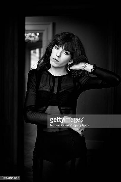 Figaro ID 105335006 Model Lou Doillon is photographed for Madame Figaro on November 13 2012 in Paris France PUBLISHED IMAGE Dress and lingerie by...