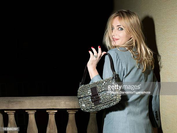 Figaro ID 105646002 Actress Emmanuelle Beart is photographed for Madame Figaro on December 12 2012 in Paris France PUBLISHED IMAGE Jacket bag CREDIT...