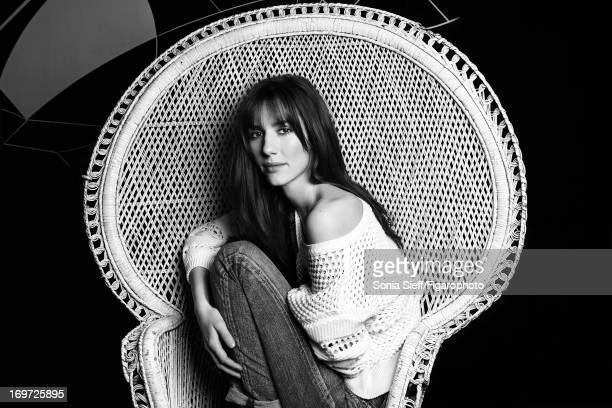 Figaro ID 105750005 TV host Doria Tillier is photographed for Madame Figaro on December 12 2012 in Paris France Sweater jeans PUBLISHED IMAGE CREDIT...