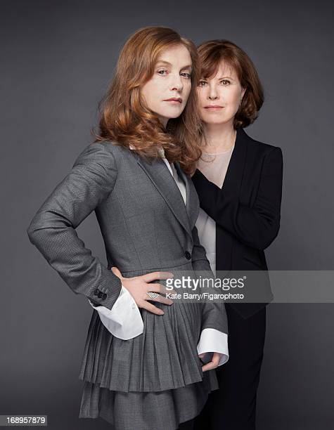 Figaro ID 105812002 Actress Isabelle Huppert and sister director/producer Caroline Huppert are photographed for Madame Figaro on January 11 2013 in...