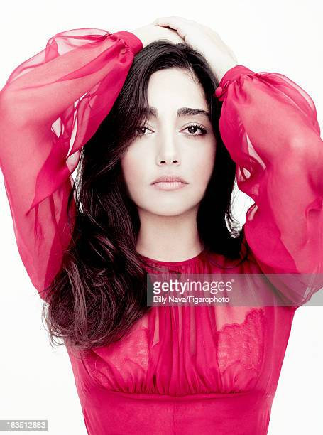 Figaro ID 105844002 Actress Golshifteh Farahani is photographed for Madame Figaro on May 12 2011 in Paris France COVER IMAGE Dress Makeup by Sisley...