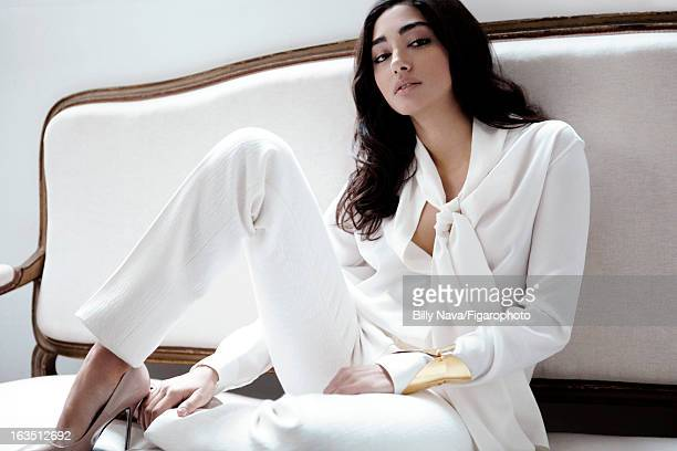 Figaro ID 105844005 Actress Golshifteh Farahani is photographed for Madame Figaro on May 12 2011 in Paris France PUBLISHED IMAGE Shirt and pants...