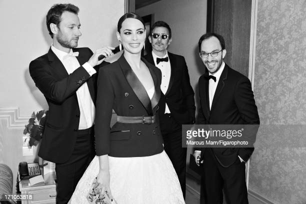 Figaro ID 106430006 Actress Berenice Bejo and director Michel Hazanavicius are photographed for Madame Figaro on May 18 2013 at the Cannes Film...