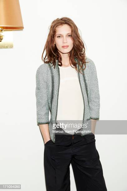 Figaro ID 106430013 Actress Marine Vacth is photographed for Madame Figaro on May 18 2013 at the Cannes Film Festival in Cannes France Jacket blouse...