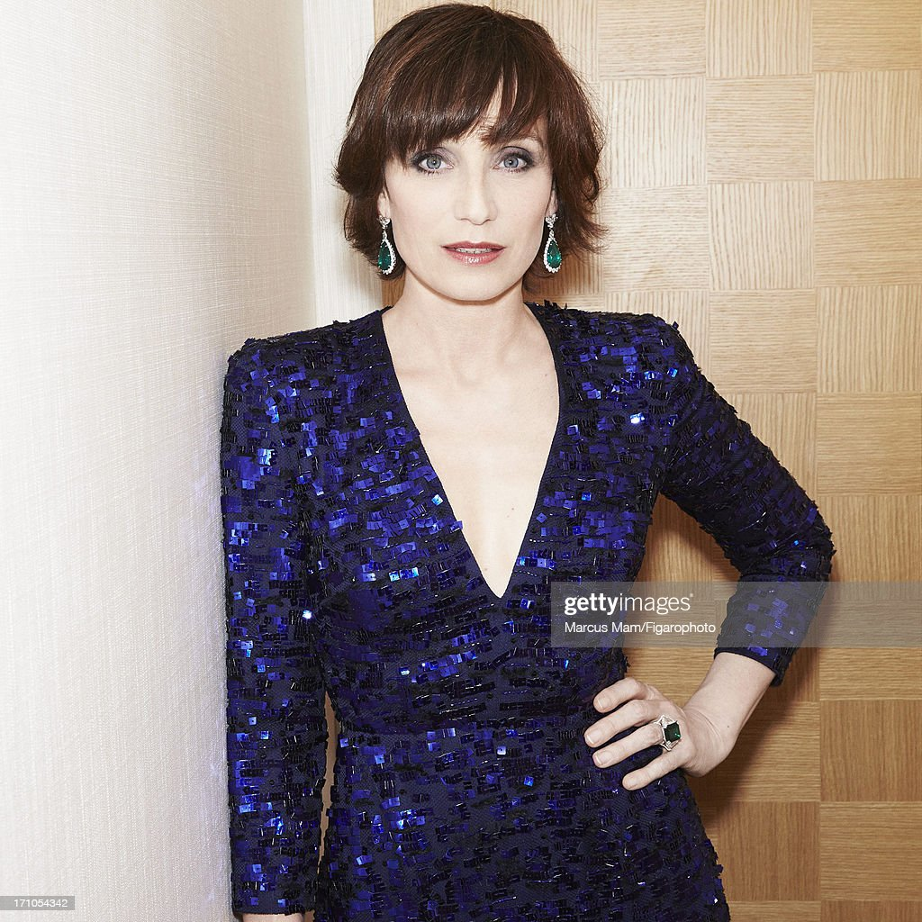 Kristin Scott Thomas, Madame Figaro, June 7, 2013