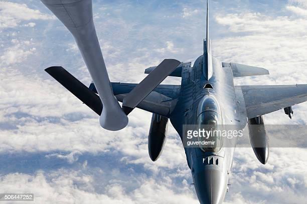 Figher jet Refueling