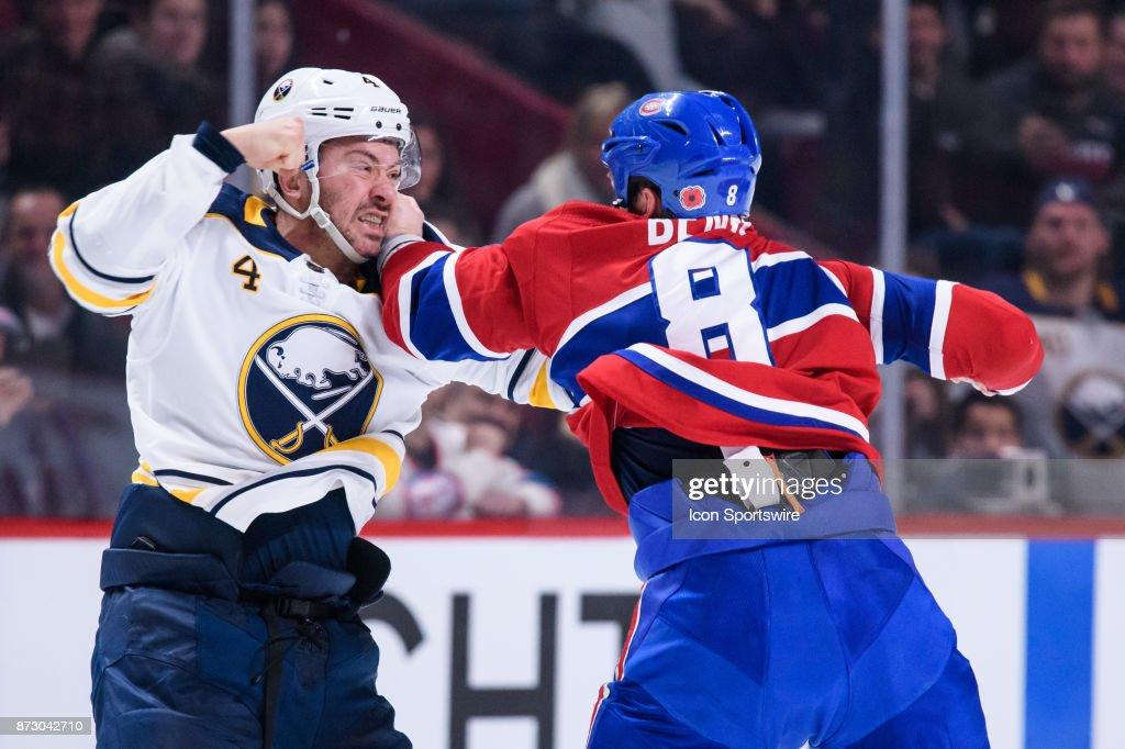 NHL: NOV 11 Sabres at Canadiens : News Photo