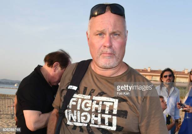 Fight night organizer Olivier Muller attends the Fight Night Weighing Party at La Bouillabaisse Saint Tropez on August 3 2017 in SaintTropez France