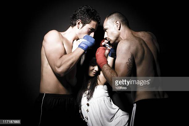 fight - blood love stock photos and pictures