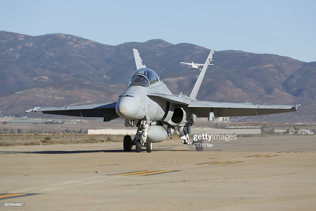 Fighter Airplane : Stock Photo