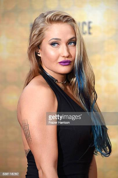 MMA fighter Anastasia Yankova attends Spike TV's 10th Annual Guys Choice Awards at Sony Pictures Studios on June 4 2016 in Culver City California