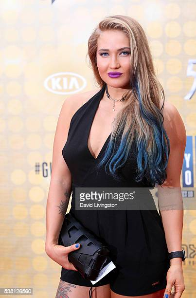 MMA fighter Anastasia Yankova attends Spike TV's 'Guys Choice 2016' at Sony Pictures Studios on June 4 2016 in Culver City California