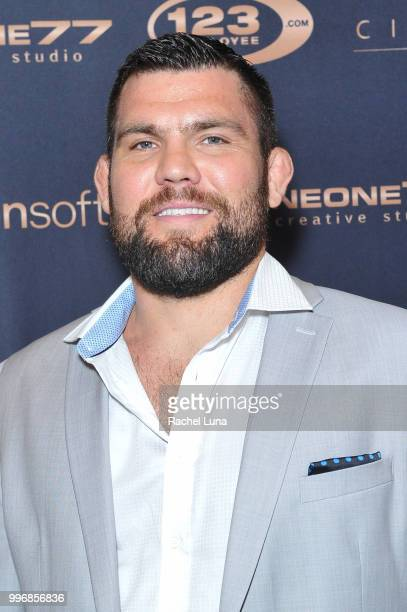 UFC fighter and producer Robert Drysdale attends City Summit Wealth Mastery And Mindset Edition afterparty at Allure Banquet Catering on July 11 2018...