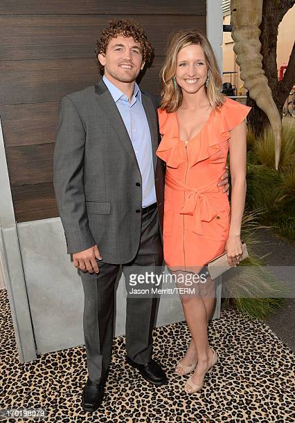 MMA fighter Ben Askren and Amy Askren attend Spike TV's Guys Choice 2013 at Sony Pictures Studios on June 8 2013 in Culver City California