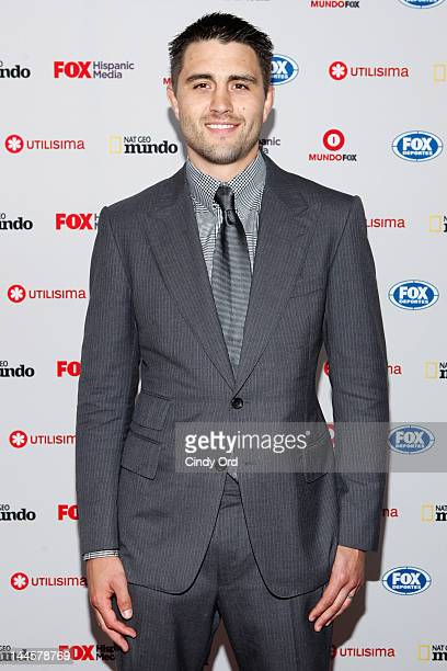 UFC fighter Carlos Condit attends the Fox Hispanic Media Upfront at Ziegfeld Theatre on May 16 2012 in New York City