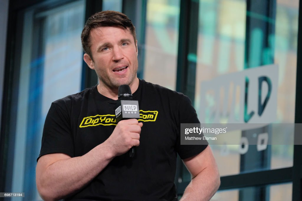 Build Presents Chael Sonnen Discussing Bellator MMA : News Photo