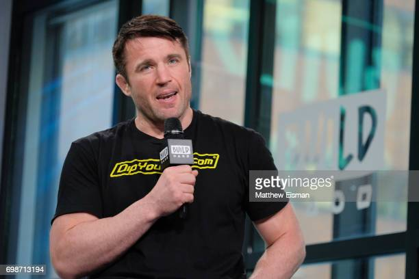 MMA fighter Chael Sonnen discusses Bellator MMA at Build Studio on June 20 2017 in New York City