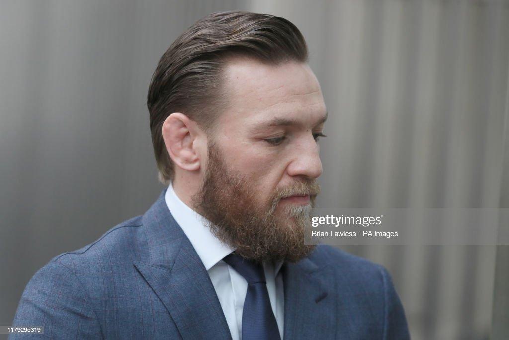 Conor McGregor court case : News Photo
