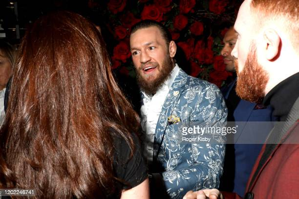 MMA fighter Conor McGregor attends the Red Light Management Grammy After Party Presented by Rolling Stone at BOA Steakhouse on January 26 2020 in...