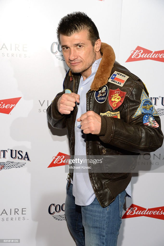 Fighter Danny Musico attends Cockpit USA & Budweiser Private 30th Anniversary Screening Of 'Top Gun' at The London Hotel on May 16, 2016 in West Hollywood, California.
