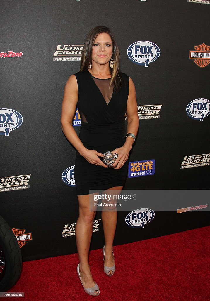 Fighter Emily Peters Kagan attends FOX Sports 1's 'The Ultimate Fighter' season premiere party at Lure on September 9, 2014 in Hollywood, California.