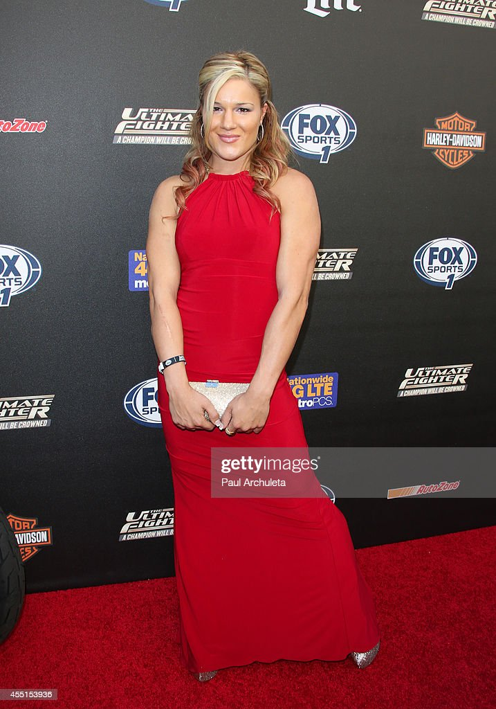 Fighter Felice Herrig attends FOX Sports 1's 'The Ultimate Fighter' season premiere party at Lure on September 9, 2014 in Hollywood, California.