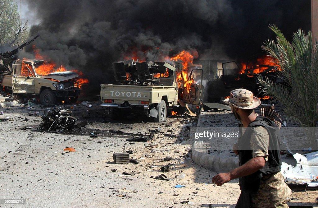 LIBYA-CONFLICT-SIRTE : News Photo