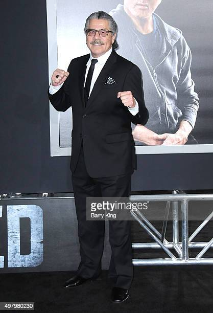 Fighter Jacob Stitch Duran attends the Premiere Of Warner Bros Pictures' 'Creed' at the Regency Village Theatre on November 19 2015 in Westwood...