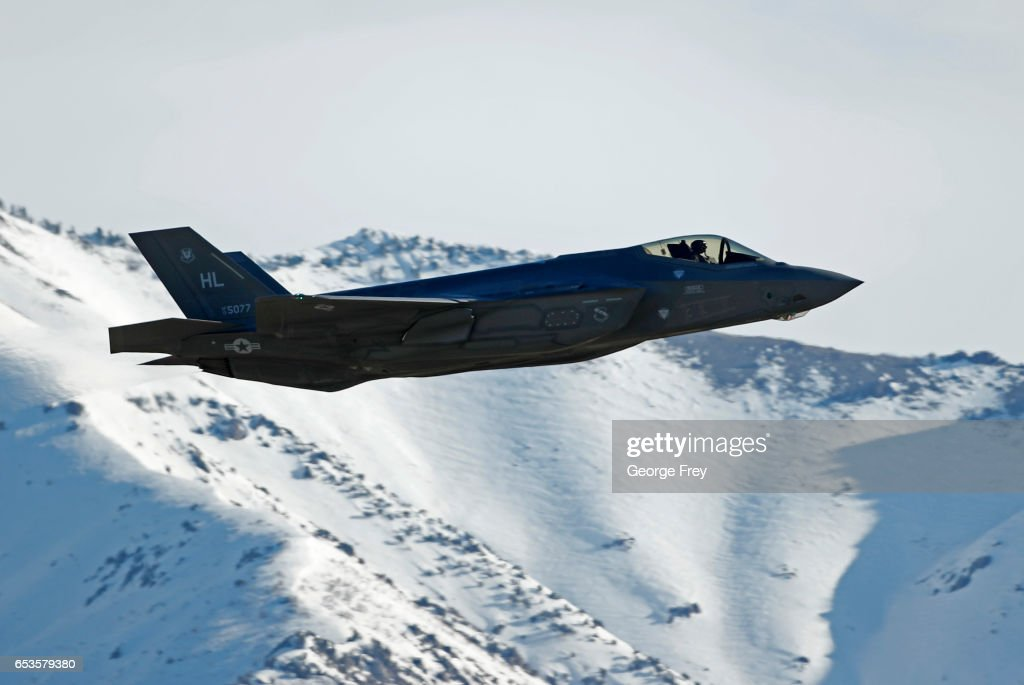 Air Force's Airmen Partake In Training Flights With The New F-35 At Hill Air Force Base : News Photo