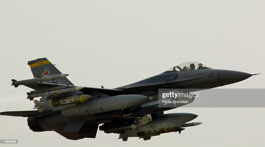 Air Campaign Continues In War With Iraq : News Photo