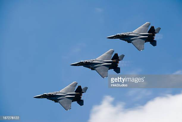 F15 Fighter Jets Flying