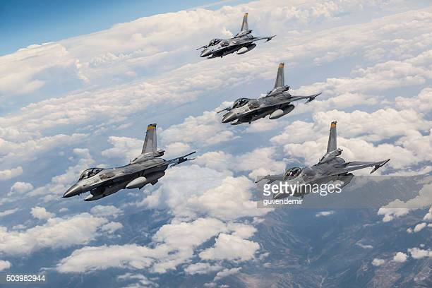fighter jets - arrangement stock pictures, royalty-free photos & images