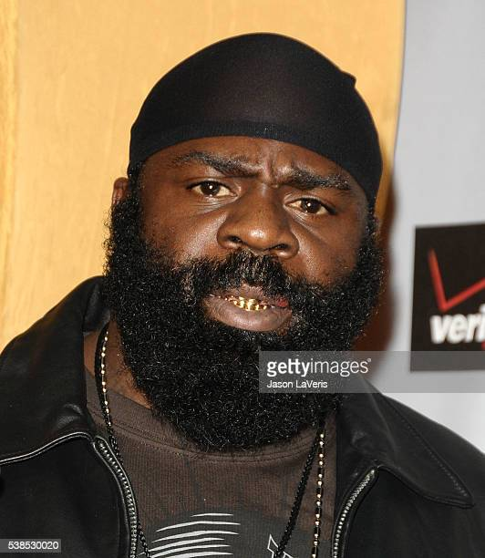 MMA fighter Kimbo Slice attends Spike TV's 7th annual Video Game Awards at Nokia Theatre LA Live on December 12 2009 in Los Angeles California