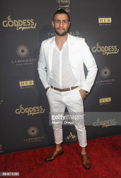 UFC fighter Mehdi Badhad aka 'The Sultan' arrives for The World Networks Presents Launch Of The Goddess Empowered held at Brandview Ballroom on May...