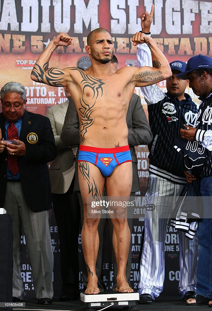 Yuri Foreman v Miguel Cotto Weigh-In