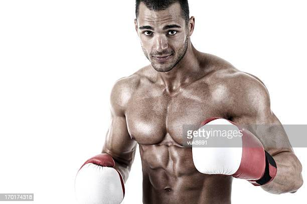 fighter - belly punch stock pictures, royalty-free photos & images