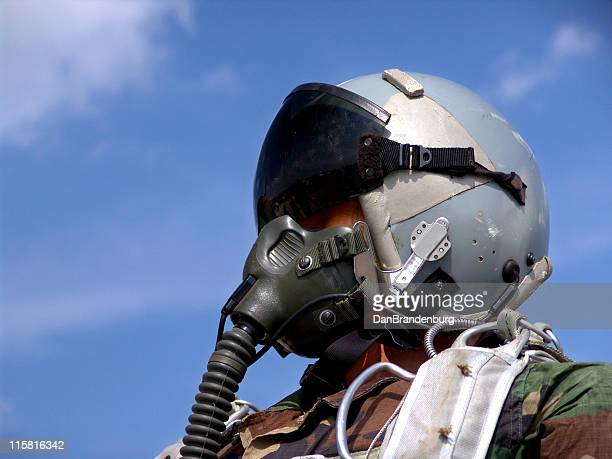 Fighter Pilot Close-up