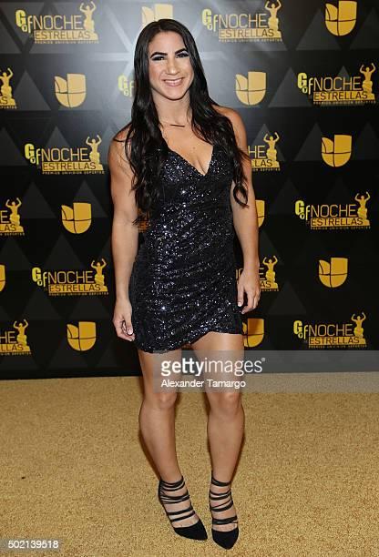UFC fighter Tecia Torres attends Premios Univision Deportes 2015 at Univision Studios on December 20 2015 in Miami Florida