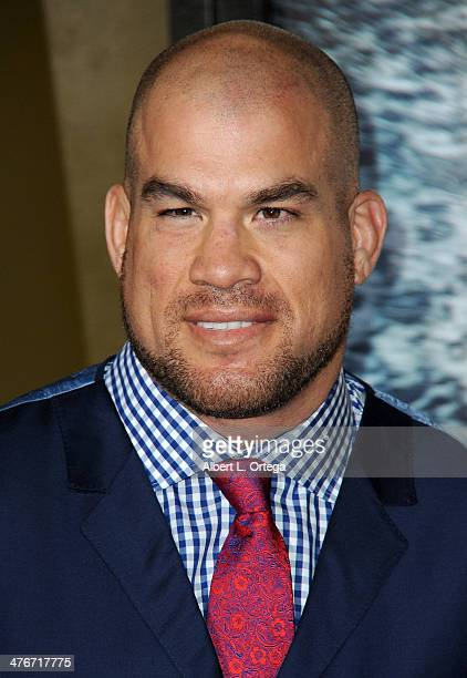 Fighter Tito Ortiz arrives for the Premiere Of Warner Bros Pictures And Legendary Pictures' '300 Rise Of An Empire' held at TCL Chinese Theatre on...