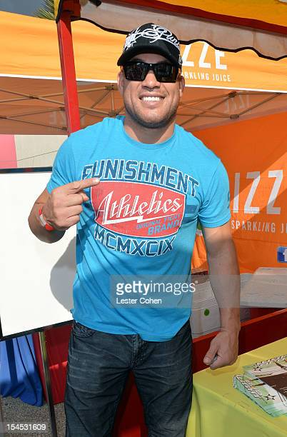 UFC fighter Tito Ortiz attends Bogart Pediatric Cancer Research Program's A Day Of Champions Children's Choice Award presented to Judd Apatow and...