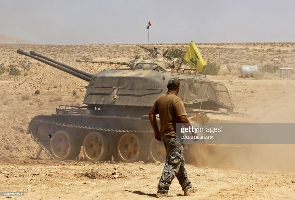 SYRIA-LEBANON-CONFLICT-JIHADISTS : News Photo