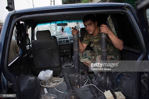 Revolt in Syria against President Bashar alAssad Battle of Aleppo August 2012 Reporters 'Paris Match' Alvaro Canovas and Alfred de Montesquiou joined...